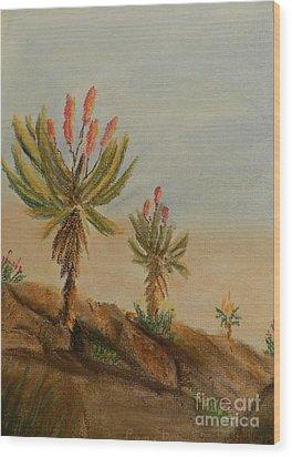 Aloes Wood Print