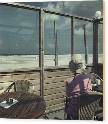 Alone Again Wood Print by Michel Verhoef