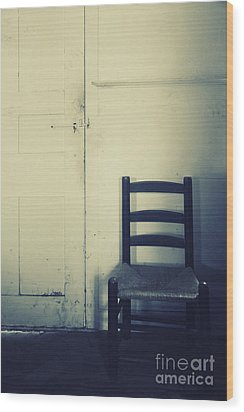 Alone In A Room Wood Print by Margie Hurwich