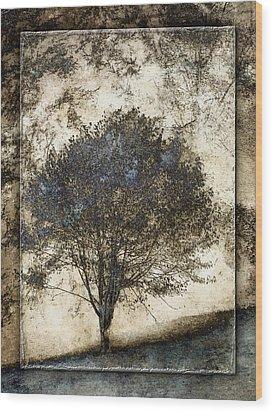 Along The Yachats River Road Wood Print by Carol Leigh