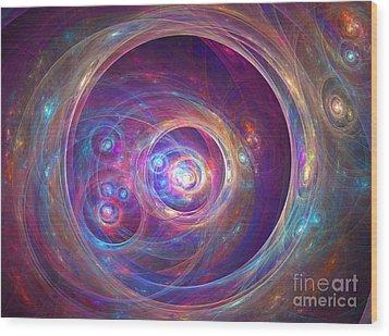 Alpha Centauri Wood Print by Kim Sy Ok