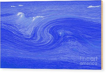 Alpha Wave By Jrr Wood Print by First Star Art