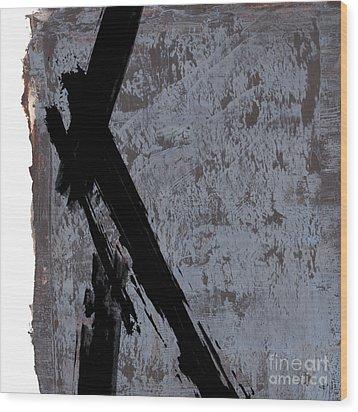 Alternative Edge I Wood Print by Paul Davenport