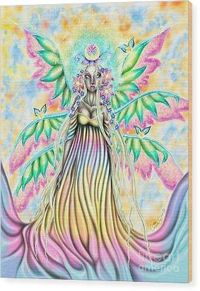 Altheia's Light Wood Print by Coriander  Shea