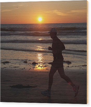 Wood Print featuring the photograph Always A Runner by Nathan Rupert