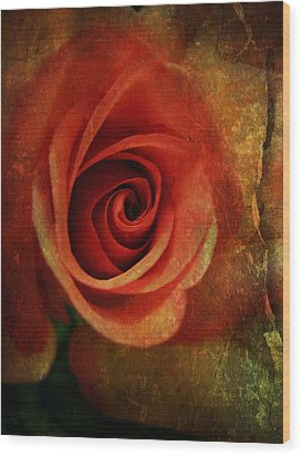 Always Be My Dream Wood Print by Shirley Sirois