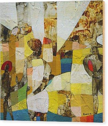 Am I Being Tailed  Wood Print by Ronex Ahimbisibwe