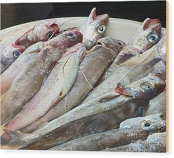 Amalfi Fish Wood Print