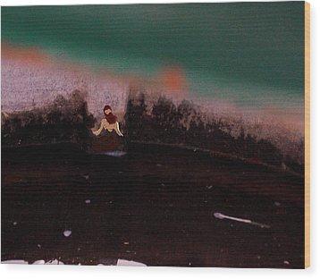 Amanda's Dusk Wood Print