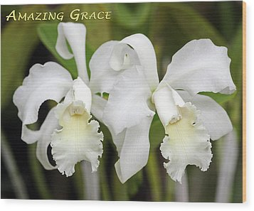 Amazing Grace Wood Print