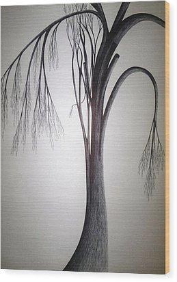 Amazing Dazzling Nature Wood Print by Giuseppe Epifani
