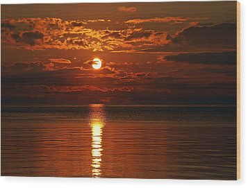 Amazing Sunset Wood Print by Aimee L Maher Photography and Art Visit ALMGallerydotcom