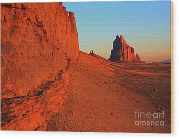 America The Beautiful New Mexico 1 Wood Print by Bob Christopher