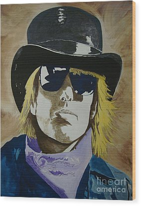 American Guy Wood Print by Stuart Engel