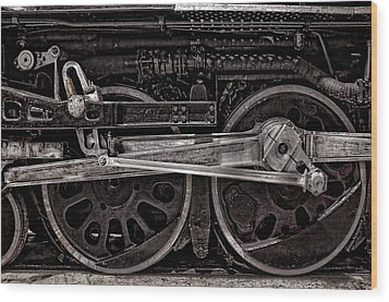 Wood Print featuring the photograph American Iron by Ken Smith