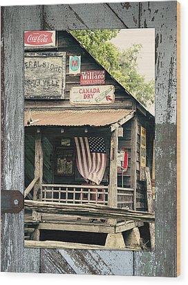 Americana Wood Print by Linda Olsen