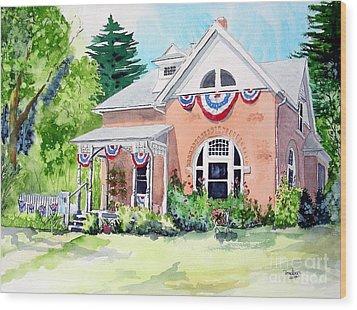 Americana Wood Print by Tom Riggs