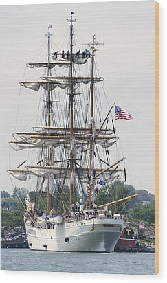 Americas Tall Ship The Eagle Wood Print