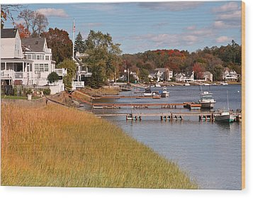 Amesbury Massachusetts Wood Print by Gail Maloney