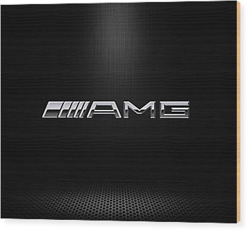 Amg Center Stage Wood Print