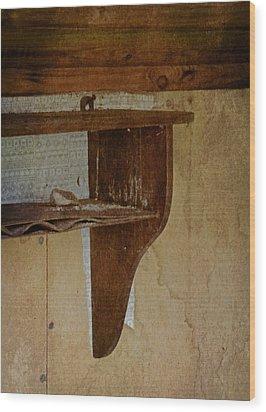 Amnesia Wood Print by Odd Jeppesen