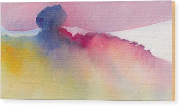 Wood Print featuring the painting Amorphous 48 by The Art of Marsha Charlebois