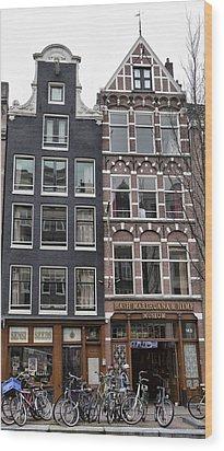 Amsterdam Hash Museum Wood Print