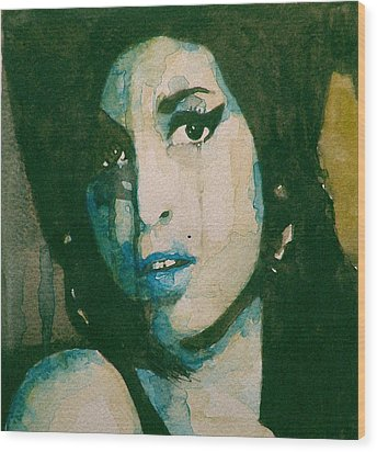 Amy Wood Print by Paul Lovering