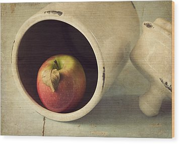 An Apple A Day... Wood Print