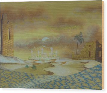 An Arab Dominion Wood Print