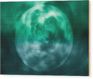 Wood Print featuring the photograph Green Energy by Kellice Swaggerty