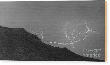 Wood Print featuring the photograph An Uphill Run by J L Woody Wooden