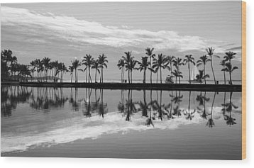 Wood Print featuring the photograph Anaehoomalu Bay by Scott Rackers