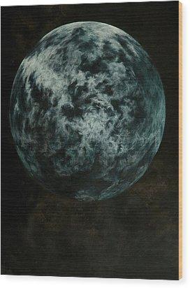 Analog Of Solaris Wood Print