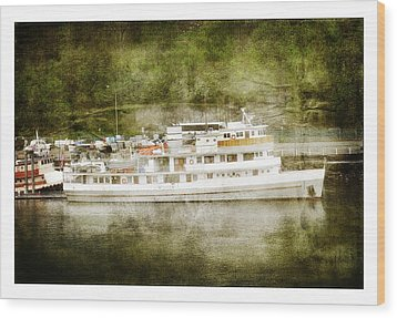 Wood Print featuring the photograph Anchors  Away by Davina Washington