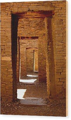 Ancient Galleries Wood Print