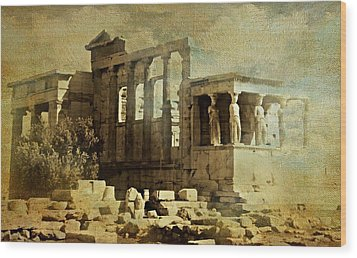 Ancient Greece Wood Print