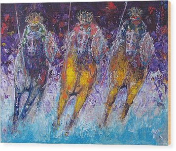 Ancient Oromo Warriors. Wood Print