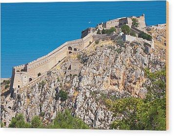 Ancient Palamidi Fortress Wood Print