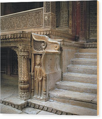 Ancient Rajasthan Wood Print by Shaun Higson