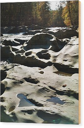 Wood Print featuring the photograph Ancient River by Janice Spivey