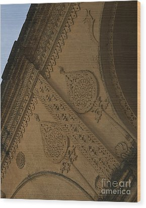 Wood Print featuring the photograph Ancient Wall by Mini Arora