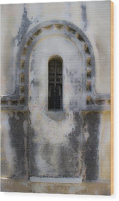 Ancient Window Wood Print by Radoslav Nedelchev