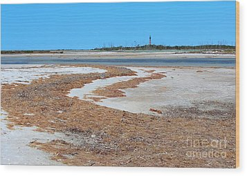 Wood Print featuring the photograph Anclote Key Island Lighthouse by Jeanne Forsythe