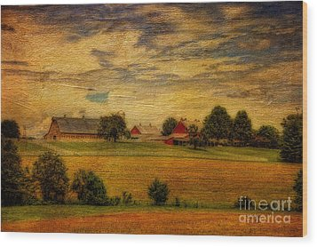 And The Livin' Is Easy Wood Print by Lois Bryan