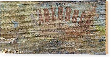 Anderbock Brew Wood Print by John Babis