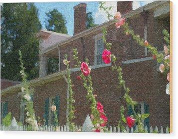 Andrew Jackson Home Wood Print