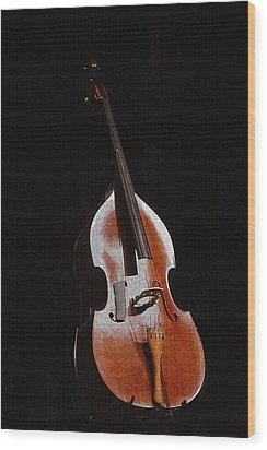 Wood Print featuring the photograph Andrew's Bass by Kandy Hurley