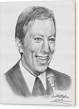 'andywilliams' Wood Print by Barb Baker
