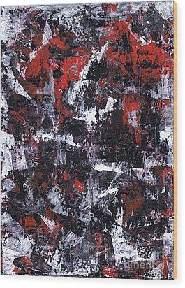 Aneurysm 1 - Middle Wood Print by Kamil Swiatek